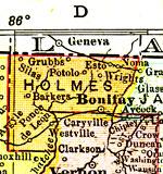 Florida Maps Holmes County