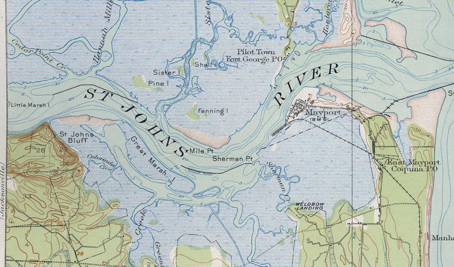 Mile St George Island