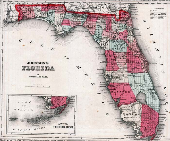 johnson's florida, 1860