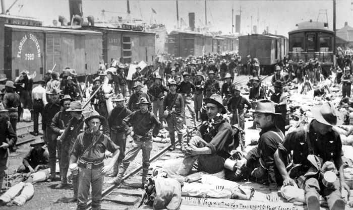spanish american war war over rough A short conflict between the us and spain, the spanish-american war took place from april to august 1898 with key battles occurring in cuba and the philippines.