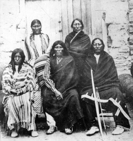 Native American Prisoners At Fort Meriam
