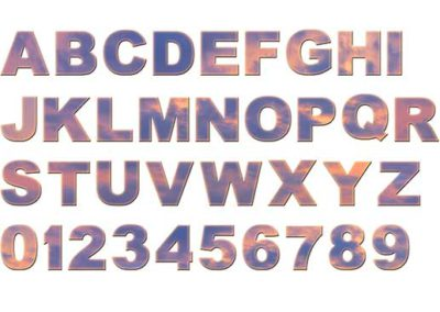 Sunset Alphabet