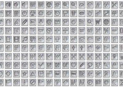 Warp Speed Icon Buttons