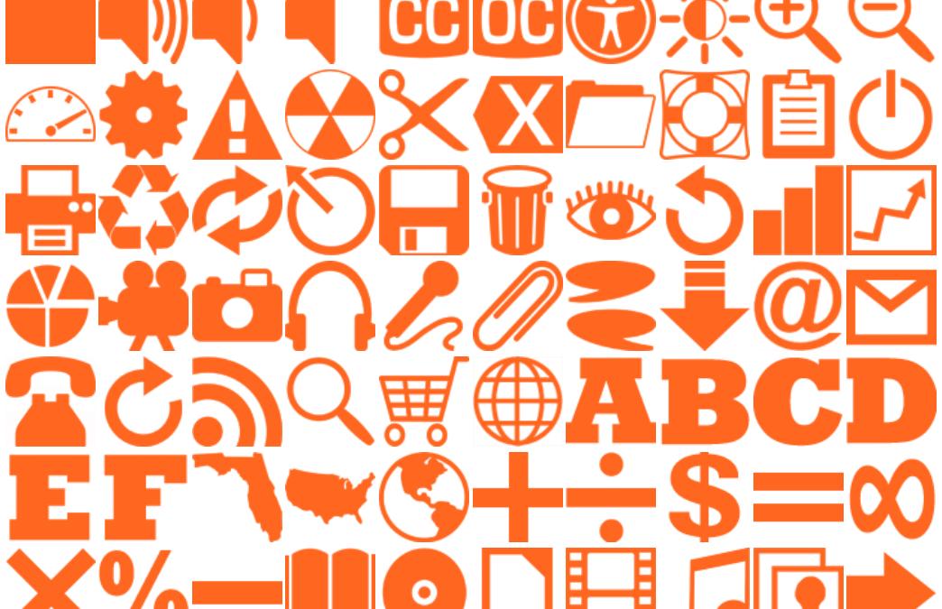 160 Orange Icons
