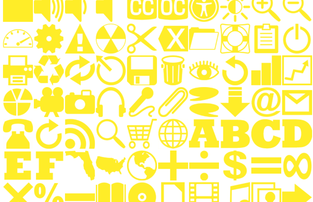 160 Yellow Icons