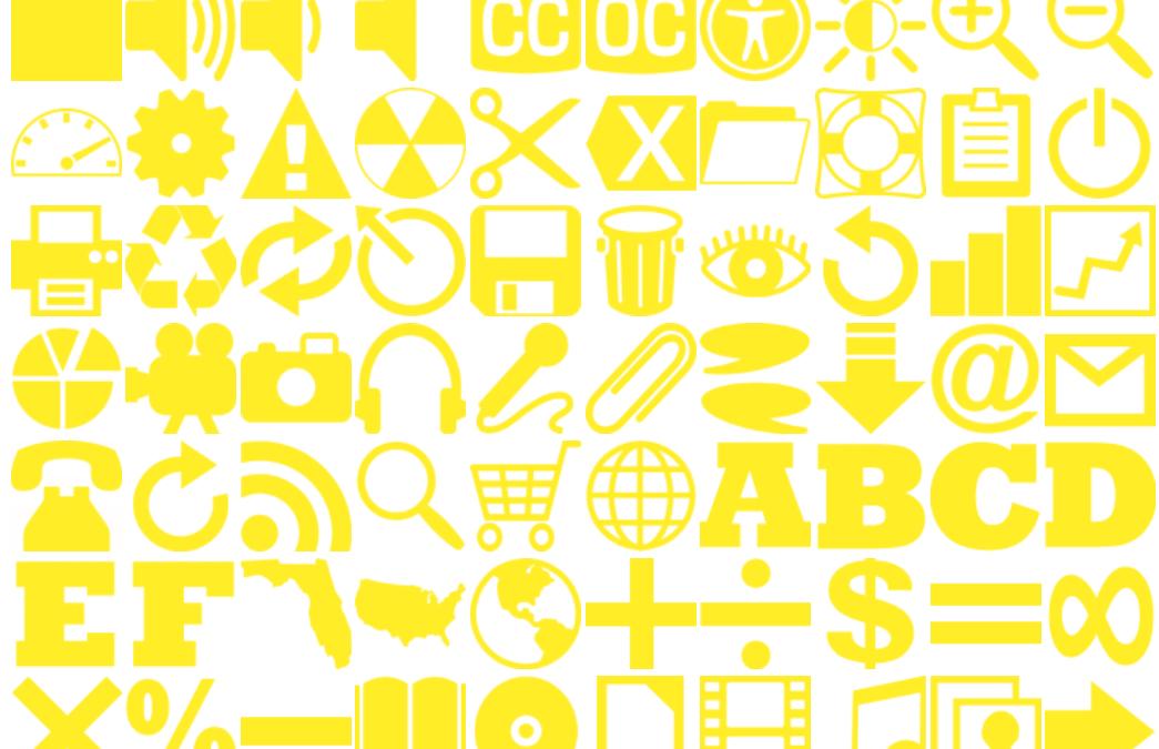 160 Yellow Icons