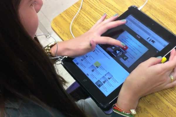 Practice Video: Tablets in a Flipped Classroom