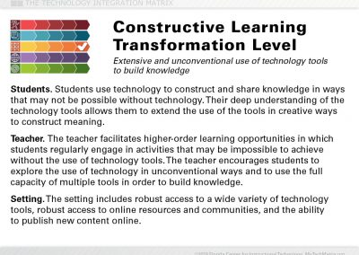Constructive Transformation Slide