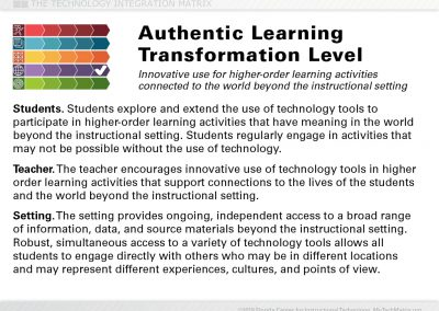 Authentic Transformation Slide