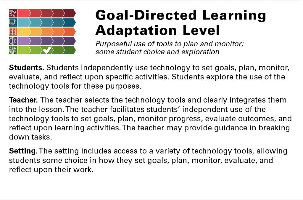 Goal-Directed Adaptation Slide