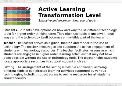 Active Transformation Slide