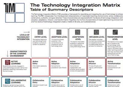 TIM Color Table of Summary Descriptors
