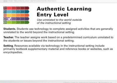 Authentic Entry Slide