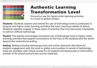 Authentic Transformation Slide