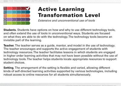 Active Transformation Slide