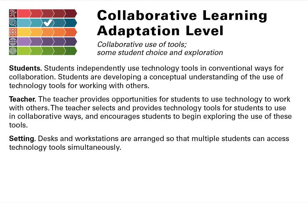 Collaborative Adaptation Slide