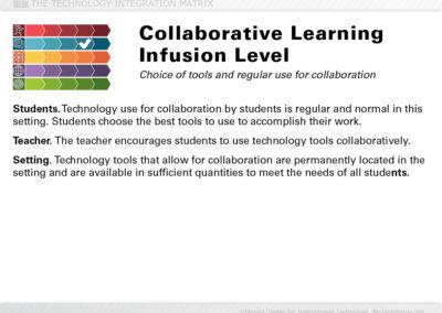 Collaborative Infusion Slide