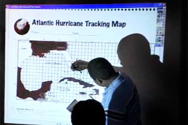 Practice Video: Hurricane Tracking