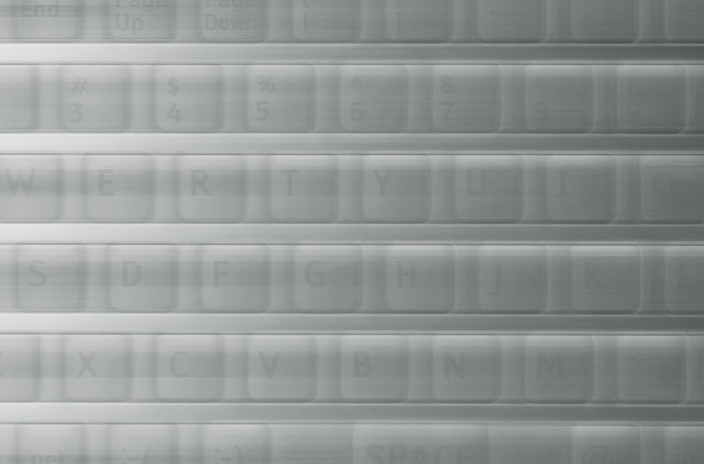 Blurred Keyboard Background