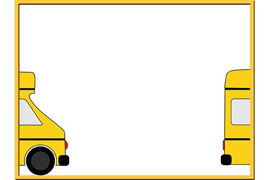 Robot 42: School Bus Background Slide