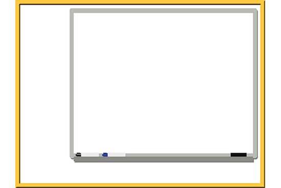 Robot 43: Whiteboard Background Slide