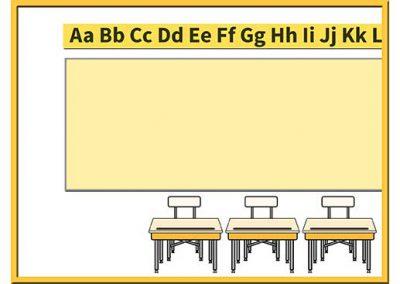 Robot 44: Classroom Background Slide