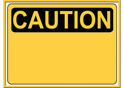 Robot 47: Caution Background Slide