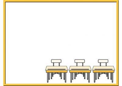 Robot 53: Three Desks Background Slide