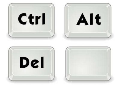Ctrl-Alt-Del and Blank Keys