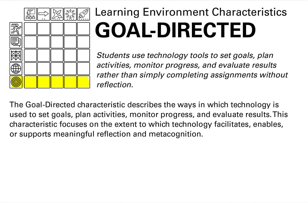 Goal-Directed Learning Text Slide