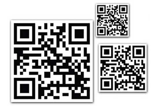 TIM Homepage QR Code