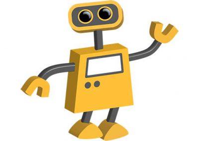 Robot 01: Friendly Bot