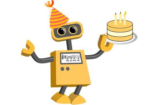 Robot 04: Birthday Bot