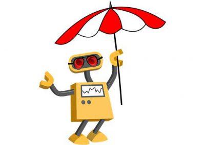Robot 05: Beach Bot