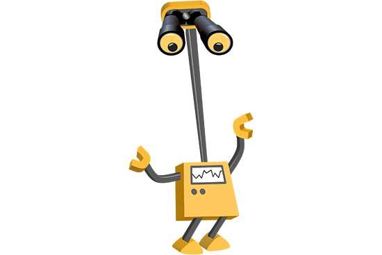 Robot 07: Binocular Bot