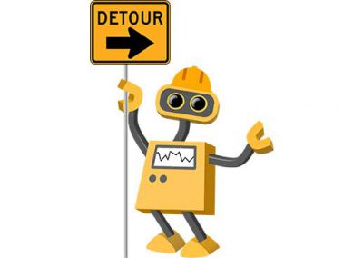 Robot 11: Detour Construction Bot
