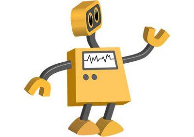 Robot 13: Looking Left