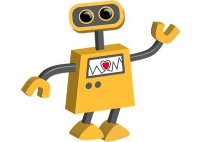 Robot 15: Robot with Heart