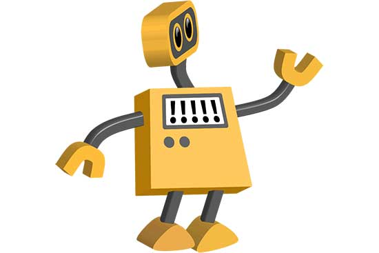 Robot 17: Exclamation Point Bot
