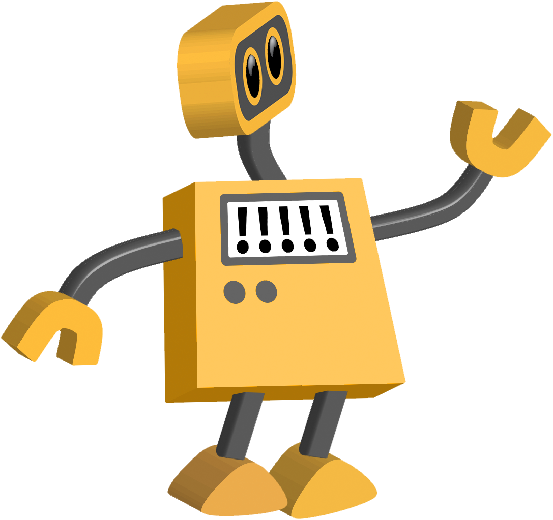 Robot 17: Exclamation Point Bot | TIM
