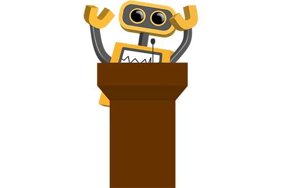 Robot 36: At the Podium