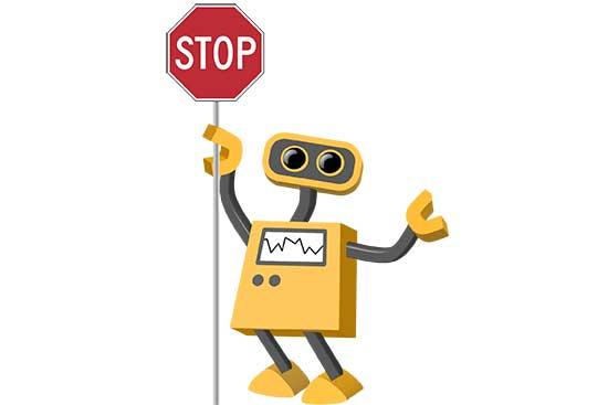 Robot 37: Stop Bot