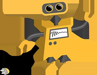 Image of yellow robot icon
