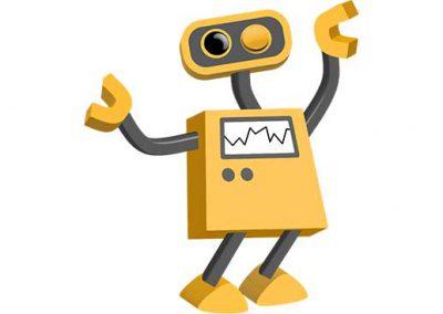 Robot 40: Winking Bot
