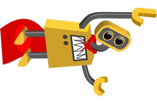 Robot 56: Flying SuperBot
