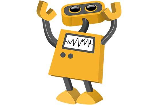 Robot 58: Look Up!