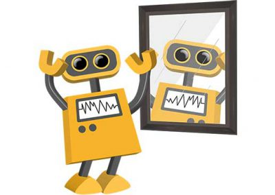 Robot 59: Mirror Bot