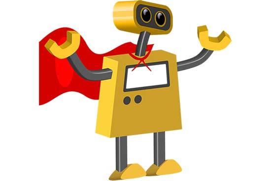 Robot 63: Standing SuperBot