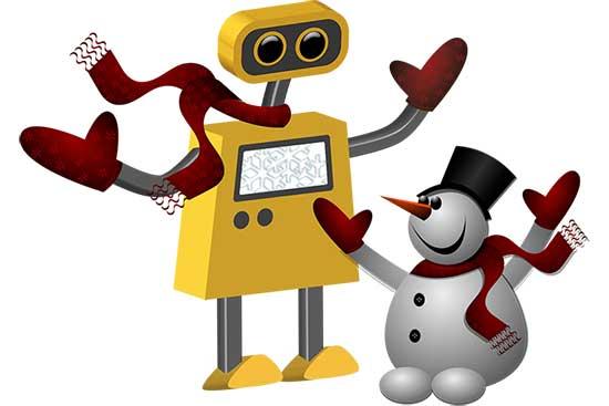 Robot 65: No Friends like Snow Friends