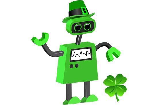 Robot 68: Lucky Clover Bot